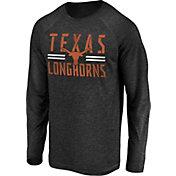 NCAA Men's Texas Longhorns Iconic Long Sleeve Black T-Shirt