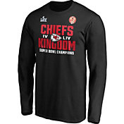 NFL Men's Super Bowl LIV Champions Kansas City Chiefs Hometown Long Sleeve Shirt
