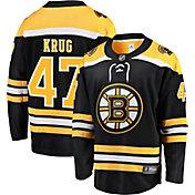 NHL Men's Boston Bruins Torey Krug #47 Breakaway Home Replica Jersey