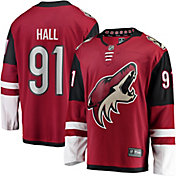 NHL Men's Arizona Coyotes Taylor Hall #91 Breakaway Home Replica Jersey