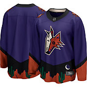 NHL Men's Arizona Coyotes Special Edition Blank Purple Replica Jersey