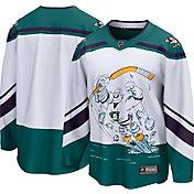 NHL Men's Anaheim Ducks Special Edition Blank White Replica Jersey