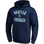 NHL Men's Seattle Kraken Victory Arch Navy Pullover Hoodie