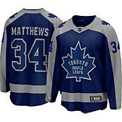 NHL Men's Toronto Maple Leafs Auston Matthews #34 Special Edition Blue Replica Jersey