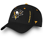 NHL Men's Pittsburgh Penguins Authentic Pro Rinkside Speed Flex Hat