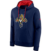 NHL Men's Florida Panthers Special Edition Logo Navy Pullover Hoodie