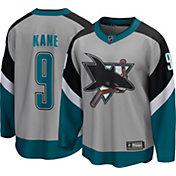 NHL Men's San Jose Sharks Evander Kane #9 Special Edition Grey Replica Jersey