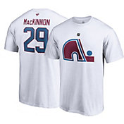 NHL Men's Colorado Avalanche Nathan MacKinnon #29 Special Edition White T-Shirt