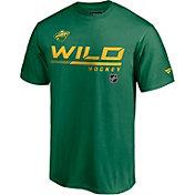 NHL Men's Minnesota Wild Special Edition Wordmark Green T-Shirt