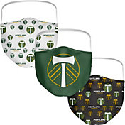 Portland Timbers 3-Pack Face Coverings