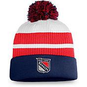 NHL Men's New York Rangers Navy Special Edition Knit Pom Beanie