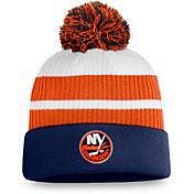 NHL Men's New York Islanders Orange Special Edition Knit Pom Beanie