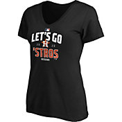 MLB Women's 2020 League Division Series Champions Houston Astros Black V-Neck T-Shirt