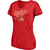 NFL Women's AFC Conference Champions Kansas City Chiefs Fair Catch T-Shirt