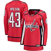 NHL Women's Washington Capitals Tom Wilson #43 Breakaway Home Replica Jersey