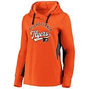 NHL Men's Philadelphia Flyers Gameday Arch Orange Pullover Sweatshirt