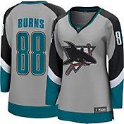 NHL Women's San Jose Sharks Brent Burns #88 Special Edition Grey Replica Jersey