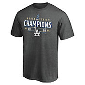 MLB Youth 2020 World Series Champions Locker Room Los Angeles Dodgers T-Shirt