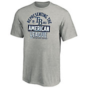 MLB Youth 2020 American League Champions Locker Room Tampa Bay Rays T-Shirt