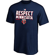 MLB Youth 2020 Division Champions Locker Room Minnesota Twins T-Shirt