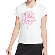 DSG Girls' Graphic Tennis T-Shirt