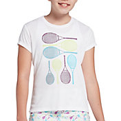 DSG Girls' Graphic Tennis T-Shirt