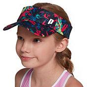 Prince Girls' Adjustable Visor Hat