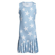 Prince Girls' USA Star Print Dress