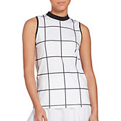 Prince Women's Mock Grid Tennis Tank