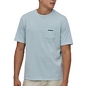 Patagonia Men's Line Logo Ridge Pocket Responsibili-Tee Short Sleeve T-Shirt