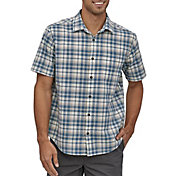 Patagonia Men's Organic Cotton Slub Poplin Button Up Shirt