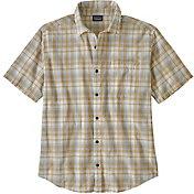 Patagonia Men's Organic Cotton Slub Poplin Button Up Shirt