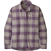 Patagonia Women's Driving Song Long Sleeve Flannel Shirt