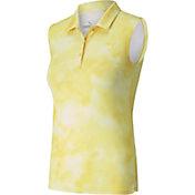 PUMA Girls' Tie Dye Sleeveless Polo