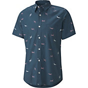 PUMA x Arnold Palmer Men's Citation Woven Print Golf Shirt