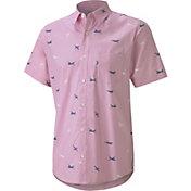 PUMA x Arnold Palmer Men's Citation Woven Print Golf Shirt