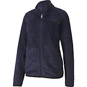 PUMA Women's Sherpa Fleece Full Zip Jacket