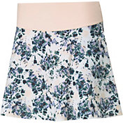PUMA Women's PWRSHAPE Floral 16''-18'' Golf Skirt