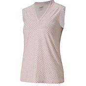 PUMA Women's CLOUDSPUN Speckle Sleeveless Polo