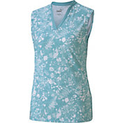 PUMA Women's Microfloral Sleeveless Polo