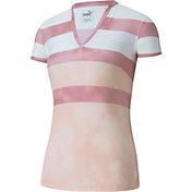 PUMA Women's Dye Stripe Polo