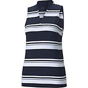 Puma Women's Valley Stripe Sleeveless Polo