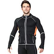 SaunaTek Men's Neoprene Hooded Jacket