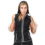 SaunaTek Women's Hooded Vest