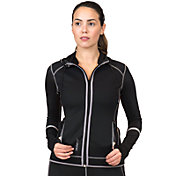 SaunaTek Women's Neoprene Hooded Jacket