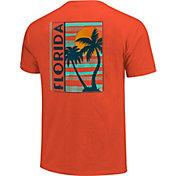 Image One Men's Florida Palm Tree Short Sleeve T-Shirt