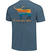 Image One Men's Texas Bull Short Sleeve T-Shirt