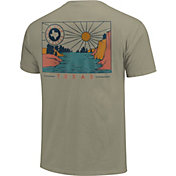 Image One Men's Texas Sunset Short Sleeve T-Shirt