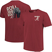 Image One Men's Alabama Crimson Tide Crimson Local Graphic T-Shirt