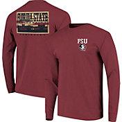 Image One Men's Florida State Seminoles Garnet Campus Sky Long Sleeve T-Shirt